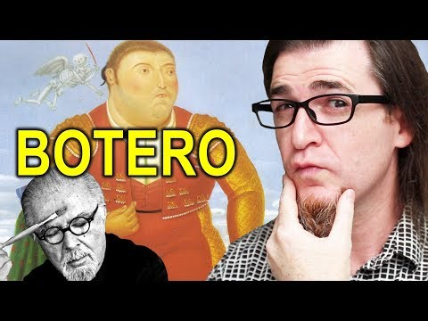 LO ABURRIDO HECHO ARTE. LA PINTURA DE FERNANDO BOTERO ARTISTA DE COLOMBIA