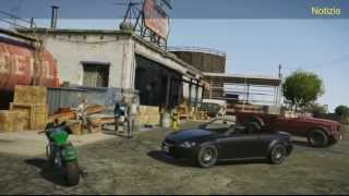 GTA 5 (Rockstar) - Gameplay ufficiale in italiano | EAZEL