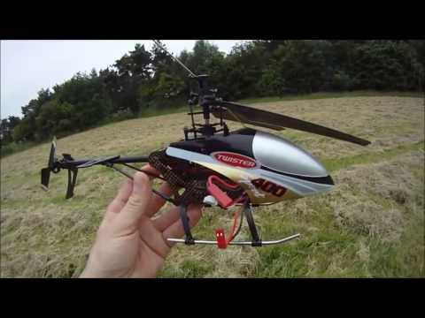TWISTER 400 SPORT RC HELICOPTER FLIGHT TEST