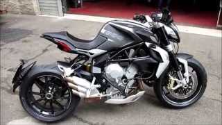 MV Agusta Dragster 800 Start up and Sound