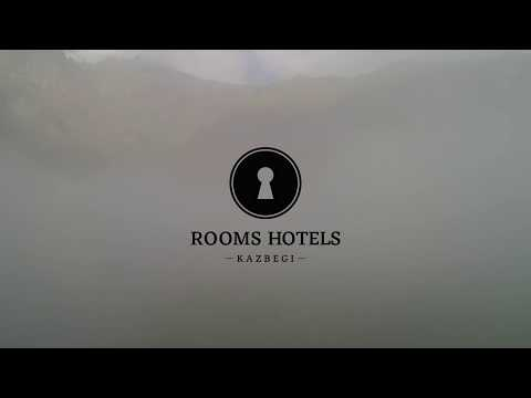 Rooms Hotel Kazbegi 4K - DJI Phantom 4 Pro