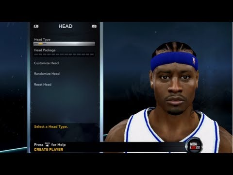 How to Create Allen Iverson NBA 2K12 - Face, Body, Attributes, Tendencies, Jumpshot, Crossover