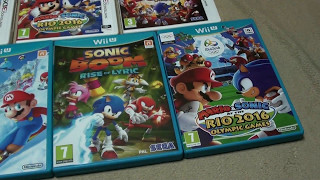 Unboxing (PL) - Mario & Sonic at the Rio 2016 Olympic Games (Wii U)