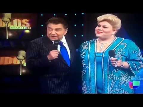 Nora Delmar en Idolos de la Canción como Paquita la del Barrio parte2-3