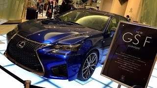 2016 New Lexus GS F/GS