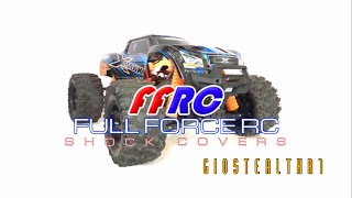 TRAXXAS X-MAXX FULL FORCE RC SHOCK COVER (BOOTS) INSTALLATION