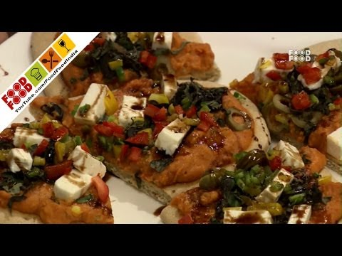 Lebanese Pizza | Food Food India - Fat To Fit | Healthy Recipes