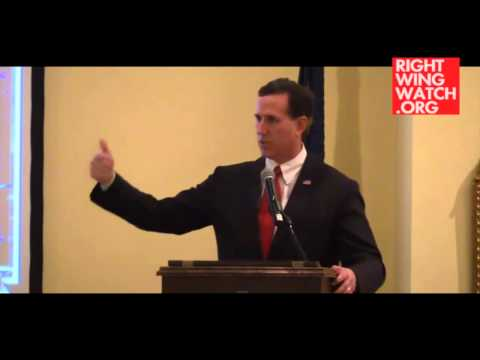 RWW News: Santorum: 'Tyrant' Obama Destroying America