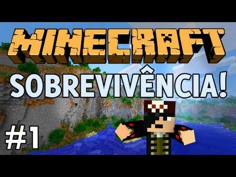 Minecraft: Sobrevivência! | Multiplayer | Episódio 1