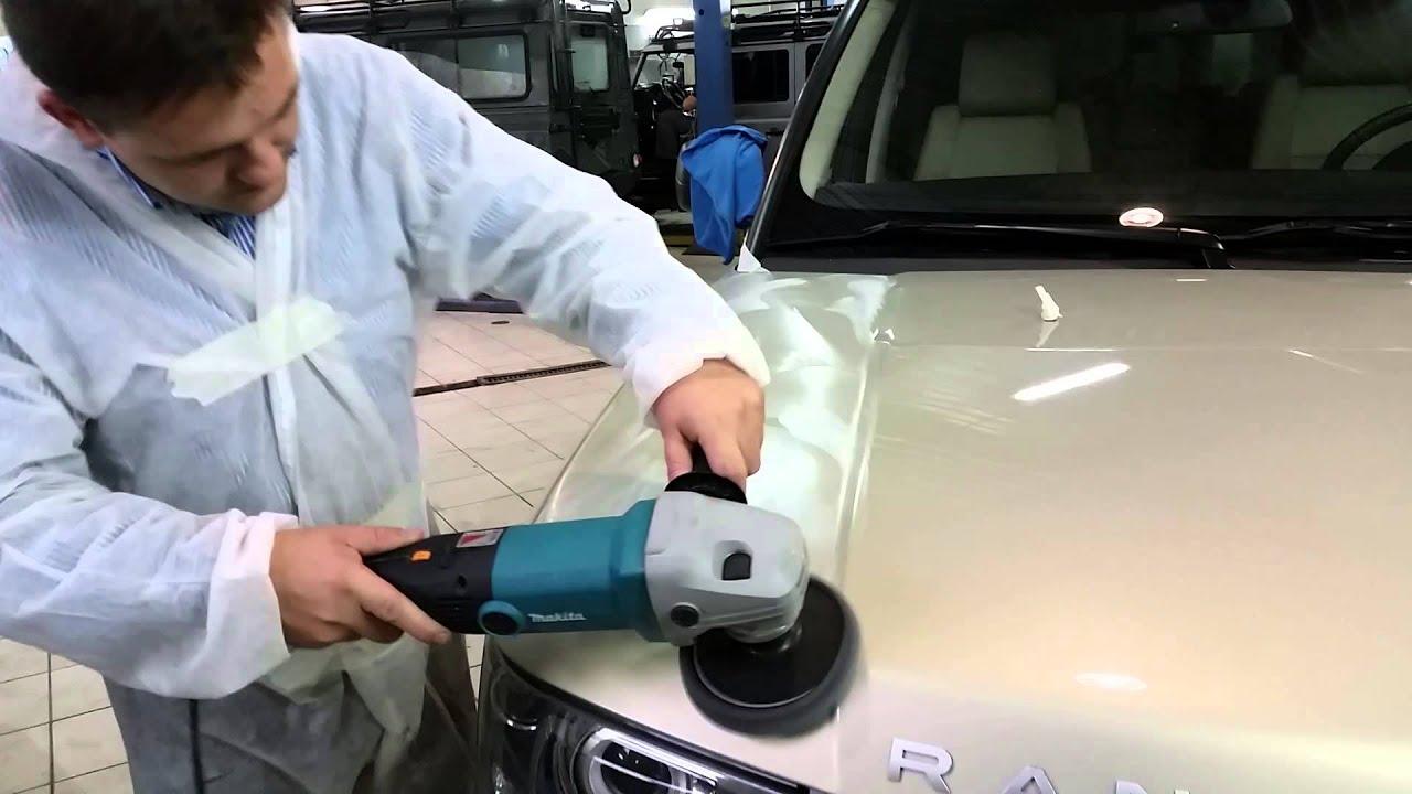 Полировка авто 3м