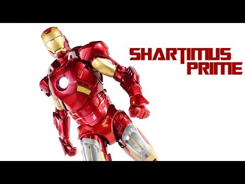 Play Imaginative 1/6 Scale Iron Man Mark VII 7 Super Alloy The Avengers Movie Action Figure Review