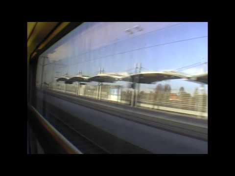 Eurostar train 184mph GPS HD Version