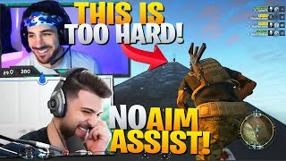 Nickmercs Finally Tries Playing With NO Aim Assist! - Ghost Recon Breakpoint