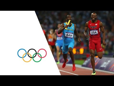 Bahamas Win Men's 4 X 400m Relay Gold   London 2012 Olympics