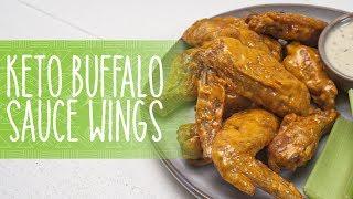 Keto Buffalo Sauce Chicken Wings