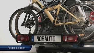 Porte-vélos d'attelage NORAUTO PREMIUM Rapid Bike pour 2/3 vélos disponibles sur Auto5.be