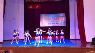 Aerobic Đất Nam - hội thi aerobic mầm non mẫu giáo quận Tân Phú 2019 - lk con chim non