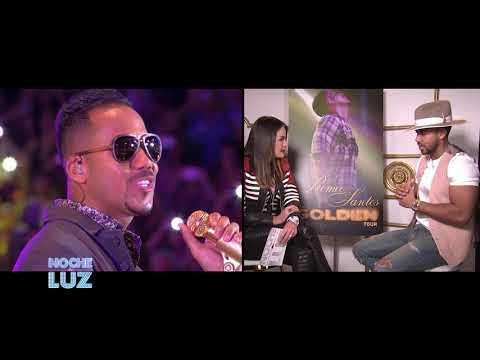 Entrevista EXCLUSIVA ROMEO SANTOS Noche de Luz  1-2..