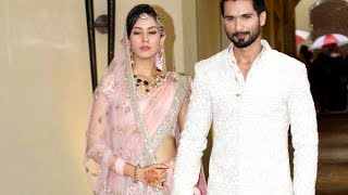 Shahid Kapoor Kisses Mira Rajput At Their Sangeet Ceremony