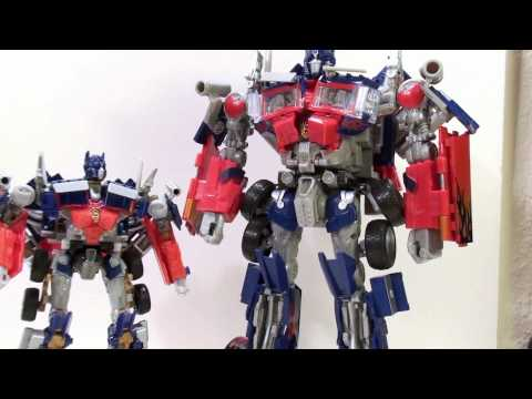 Video review of the Transformers: Hunt for the Decepticons; Battle Blades Optimus Prime