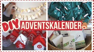 DIY ADVENTSKALENDER + FÜLLIDEEN 2017 (für Kinder, Freund, Mutter,..) ⎮weeklyMel