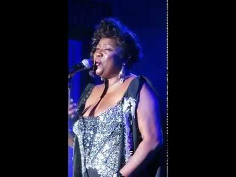 Loretta Devine performing