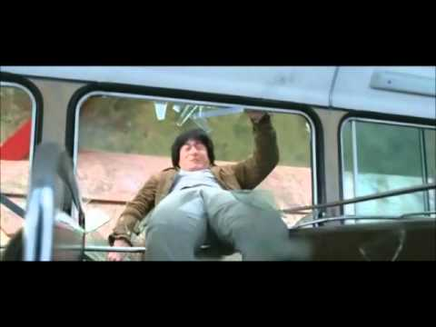 New Police Story - Crazy Bus Scene (jackie Chan) video