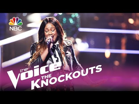 "The Voice 2017 Knockout - Keisha Renee: ""I Hope You Dance"""