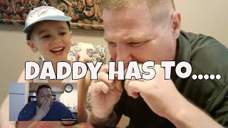 Daddy Has To ....   Funny Food Challenge Episode II