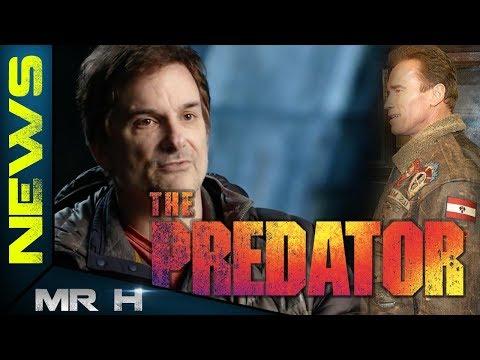 Shane Black Reveals Why Arnold Schwarzenegger IS NOT In The Predator