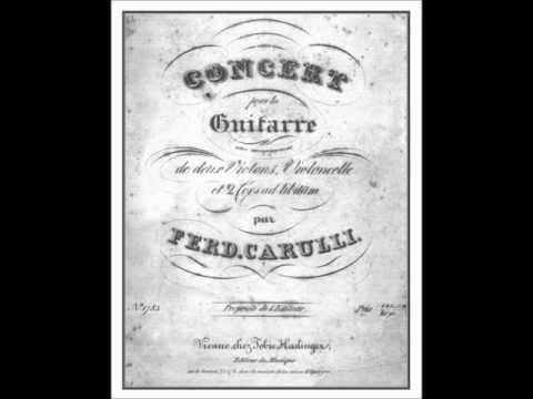 Ferdinando Carulli: Polonaise dal Concerto in La op. 8 - Fernando Lepri e Orch. Classico Italiano