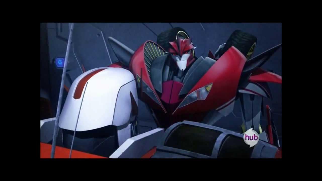 transformers prime quotsynthesisquot knockout and ratchet clip