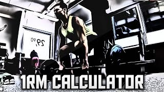 04 - [ONE REP MAX CALCULATOR] How To Create A Workout Plan for Beginners, Men & Women - 1RM Test