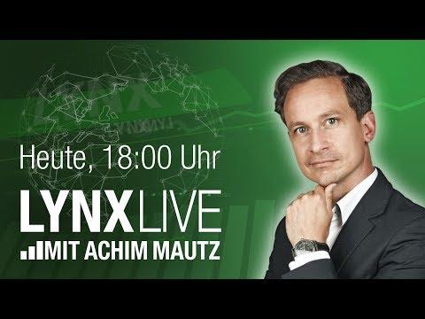 LYNX Live - Börse einfach, kurz direkt auf den Punkt gebracht + die Hot Stocks der Woche 11.01.2019