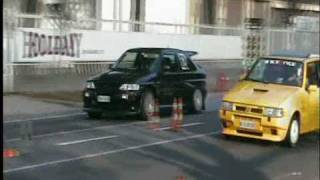 Forlì gara accelerazione 11/10/2009 Escort Cosworth vs Uno Turbo