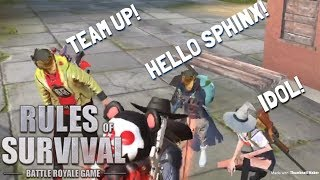 Download Song SOLO-FIRETEAM (FUNNY TEAM UP!) - Rules of Survival (Tagalog) Free StafaMp3