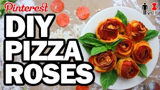 DIY PIZZA ROSES - Man Vs Valentines Day #108