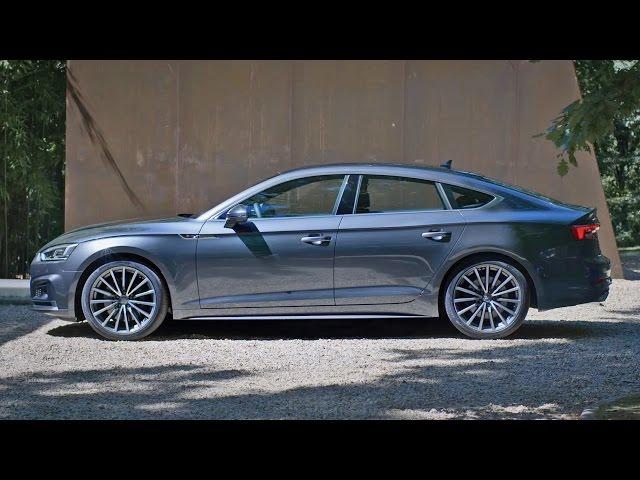 2017 Audi A5 Sportback S line - Footage - YouTube