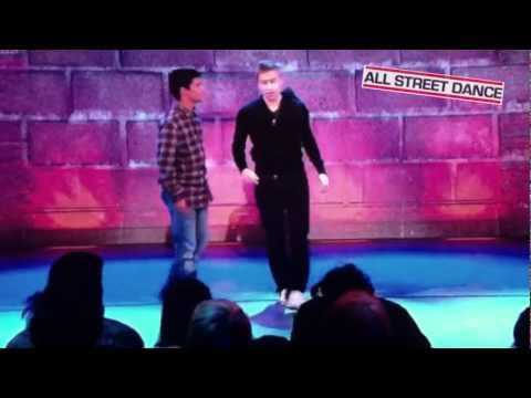 Russell Howard Breakdances - BBoy Sunni Mystery Guest on Russell Howard's Good News