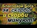 НИЧЕГО НЕ БОЙСЯ!...Благодари Бога за все!!!  Духовные наставления   -  Радонежские старцы