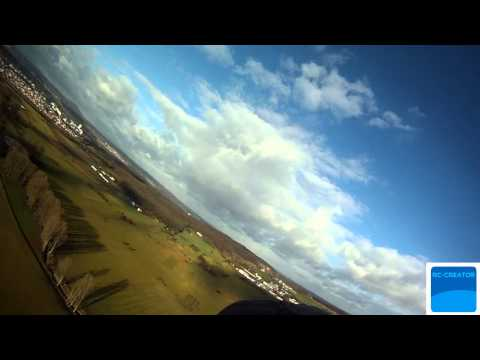 long range test flight - 2171m  (One Way with a safe landing) -Chainlink UHF BEVRC