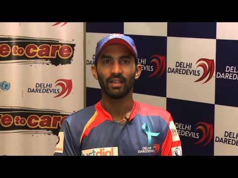 Cricketer Dinesh Karthik is a HeForShe
