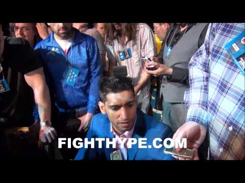 AMIR KHAN SAYS HED TURN DOWN A SEPTEMBER FIGHT WITH FLOYD MAYWEATHER