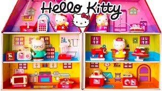 Hello Kitty Mini Doll House Playset HELLO KITTY Sanrio REVIEW