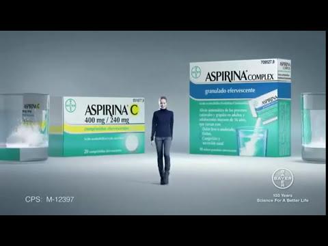 Spot Anuncio ASPIRINA® C+COMPLEX DE BAYER 2013