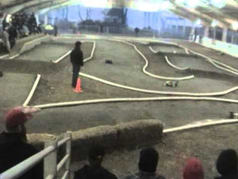 Delta RC's 2010-11 Indoor WPS Nitro Round #3 Pro Truggy 15min vid Jan. 15th 2011