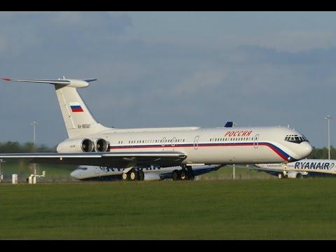 China Southern Airbus A330 First at Stansted. Ilyushin Il-62M IL76, Tupolev TU154 Russian Aircraft