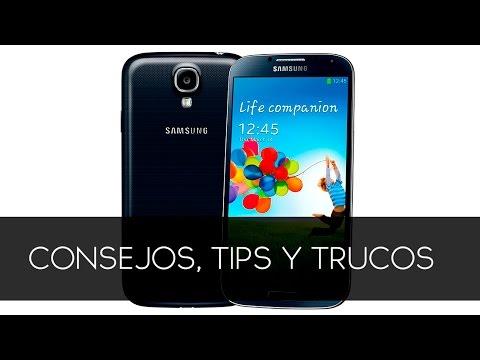 Samsung Galaxy S4  Tips trucos para android (aumenta velocidad, rendimiento y batería)