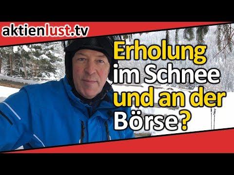 Erholung im Schnee und an der Börse?   aktienlust   Jürgen Schmitt
