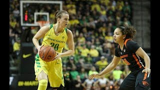 No. 3 Oregon women's basketball takes down No. 9 Oregon State in front of sold-out crowd